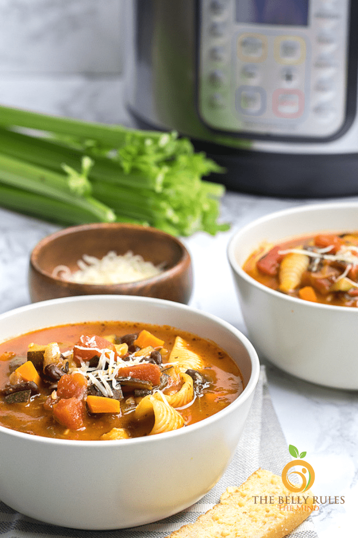 instant- pot Minestrone soup