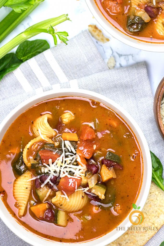 instant- pot Minestrone soup