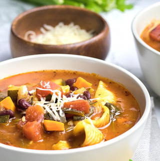 Instant Pot minestrone soup (3)