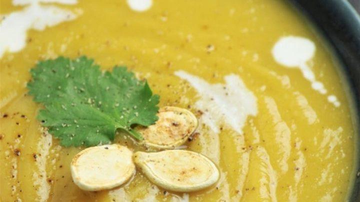 Instant Pot Vegan Pumpkin Soup