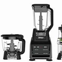 Ninja Blender/Food Processor with Intelli-Sense Touchscreen, 1200-Watt Smart Sensor Base, Spiralizer, 72oz Pitcher, 64oz Bowl, and 24oz Cup (CT682SP)