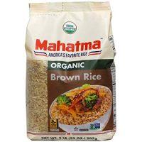 Mahatma Organic Brown Rice, 2 lb.
