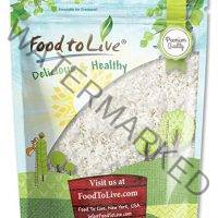 Desiccated Coconut by Food to Live (Shredded, Dried, Unsweetened, No SO2, Bulk) — 1 Pound