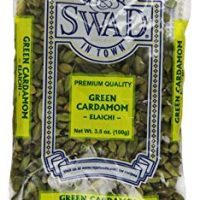 Swad Cardamom Indian Grocery Spice, Pods Green, 3.5 Ounce