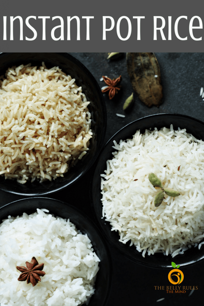 How to make rice in Instant Pot