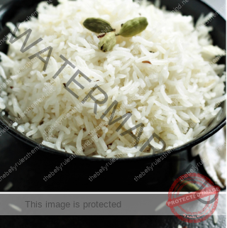 Basmati Rice cooked in Instant Pot