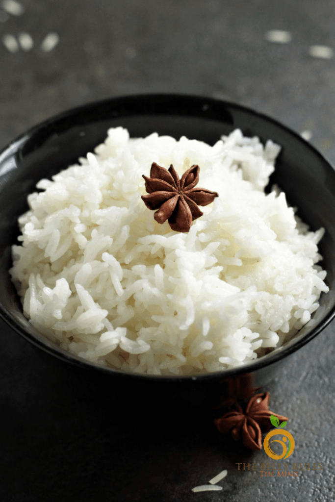 Sticky Jasmine Rice cooked in Instant Pot