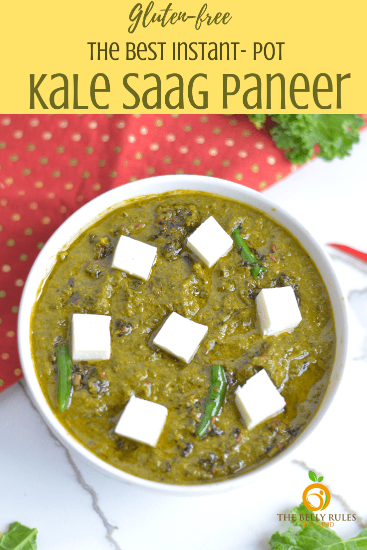 Saag primarily means green leafy vegetables like spinach, mustard greens, fenugreek etc. It goes amazingly well with Makki ki roti (Corn tortilla) and a dollop of butter. This traditional dish is eaten during winters in Punjab - northern part of India. Saag tends to keep you warm during winters and is a good source of iron, magnesium and calcium.