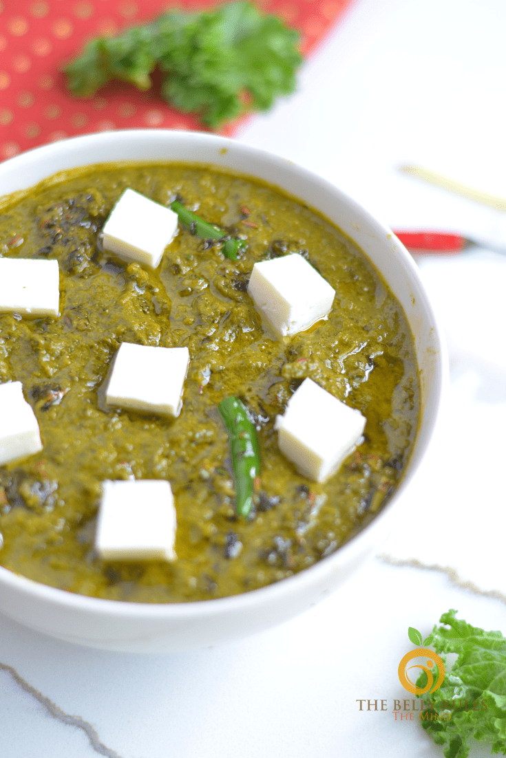 instant pot Kale Saag Paneer