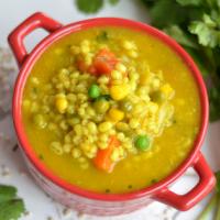 instant pot vegetable barley soup / barley soup recipe