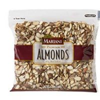 Sliced Almonds Laydown Ziplock, 12oz