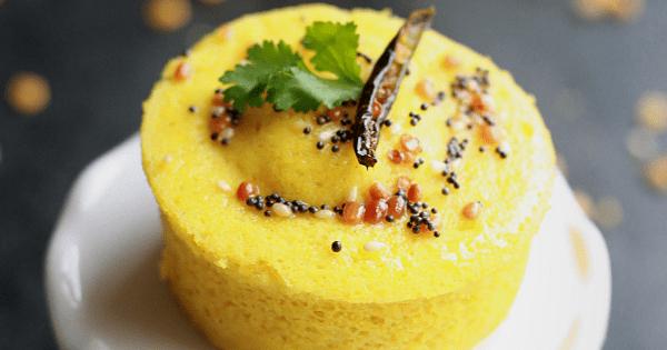 Khaman Dhokla with Gram Flour