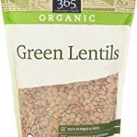 365 Everyday Value, Organic Green Lentils, 16 Ounce