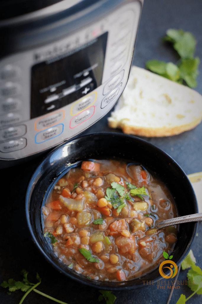 Instant Pot Italian Lentil Soup
