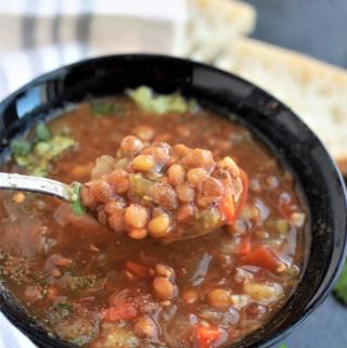 Spoonful of Lentil Soup