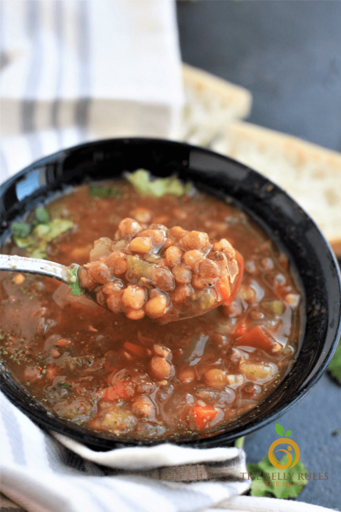 Spoonful of Lentil Soup