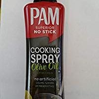 Pam Superior NO STICK Cooking Spray Olive Oil (Extra Virgin) (2- PACK) (NET WT 7 OZ EACH)