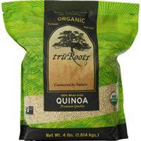 truRoots Organic Quinoa 100% Whole Grain Premium Quality, 4 lbs (Pack of 2)