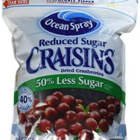 Ocean Spray Reduced Sugar Craisins Dried Cranberries, 43 oz.