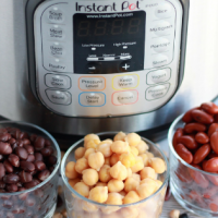 how to pressure cook dry beans