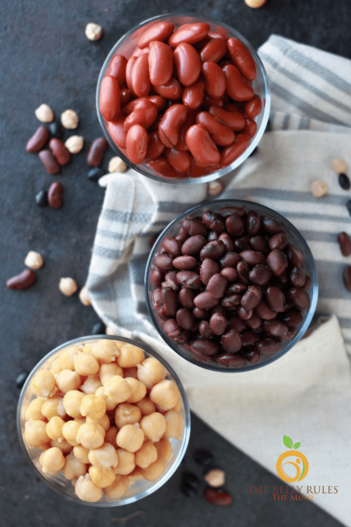 beans cooked from scratch