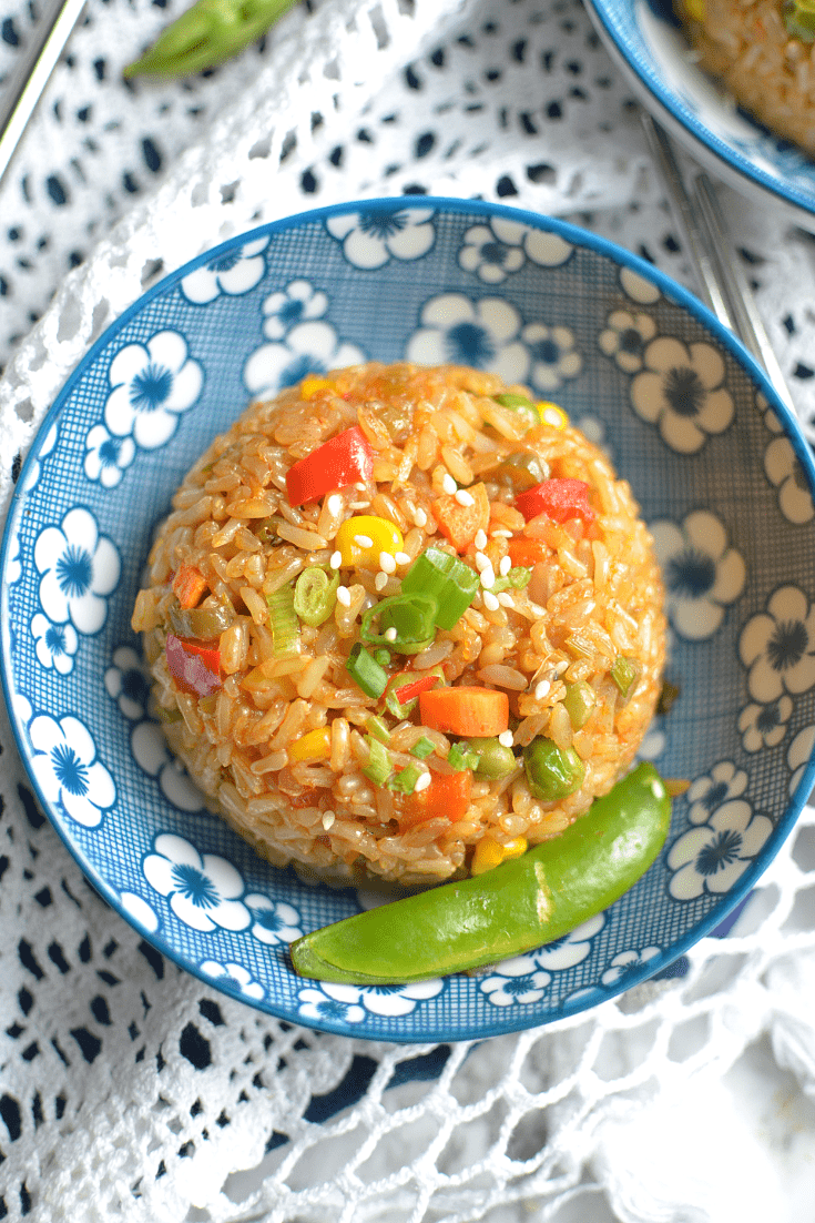 Instant Pot Teriyaki fried rice (4)