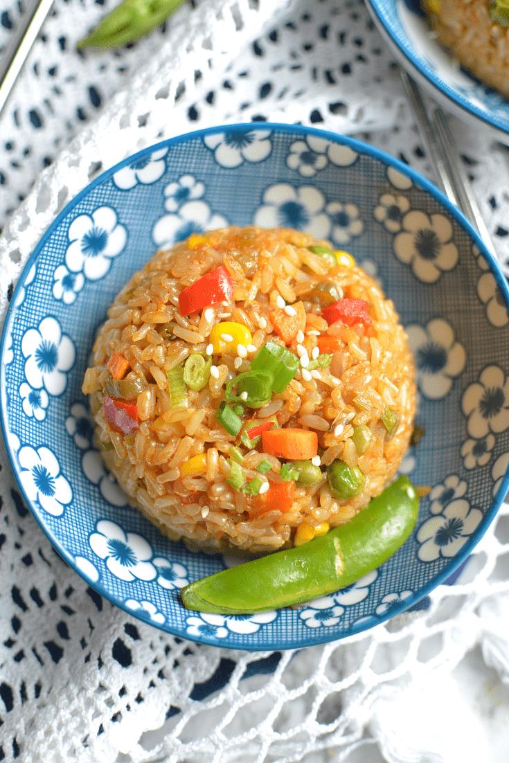 Instant Pot Teriyaki fried rice (4)