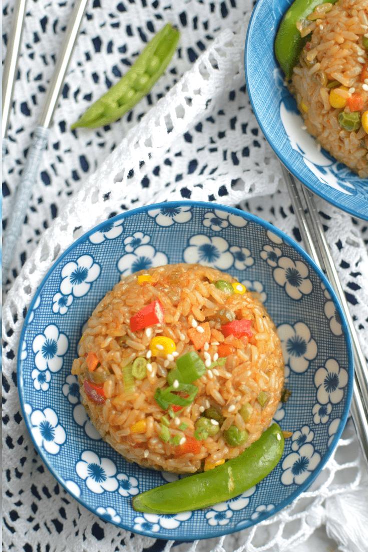 Instant Pot Teriyaki fried rice bowl