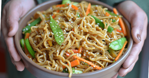 Vegetable Chow Mein Video Recipe Thebellyrulesthemind