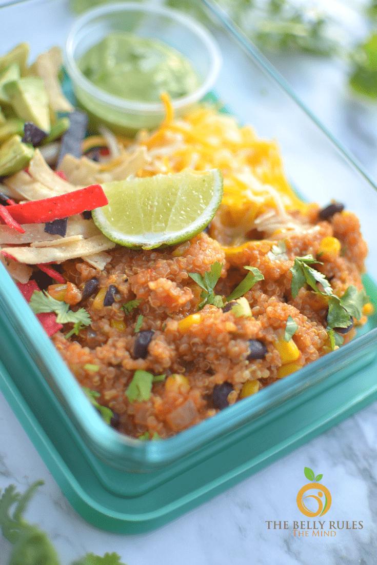 instant pot meal prep - quinoa burrito bowl (1)