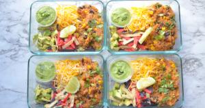 instant pot meal prep - quinoa burrito bowl (9)