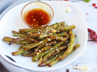 Air Fryer Green Beans The Belly Rules The Mind