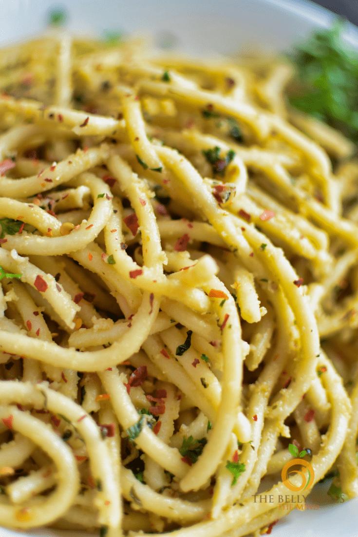 Instant pot spaghetti aglio e olie (2)