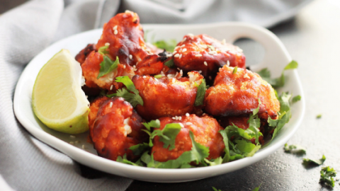 Korean Air Fried Cauliflower Wings Cheesecake Factory Copycat