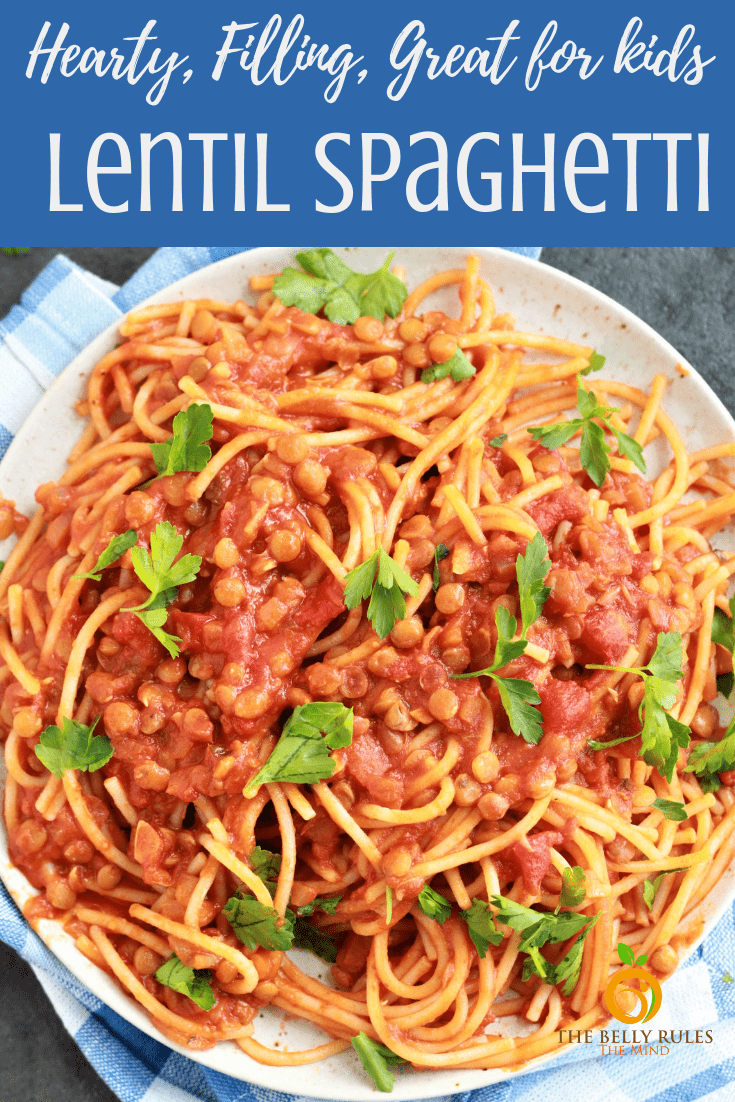 Instant Pot Spaghetti with Lentils makes a perfectly hearty & filling weeknight dinner with just 7 pantry staples in 10 mins. It's tasty, rich in protein, fiber, budget friendly & great for kids. No gummy noodles plus you won't miss the meat at all. Vegan. Vegetarian. Gluten-Free. Video Recipe. #instantpoptspaghetti #instantpotnoodles #veganspaghetti #lentilspaghetti #instantpotrecipe #veganinstantpot #vegetarianspaghetti #instantpotlentilspaghetti #instantpotlunch #instantotdinner #instantpotvegetarian #plantbasedinstantpot