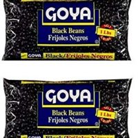 Goya Black Beans Dry 1lb (Pack of 2)