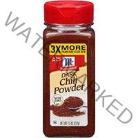 McCormick Dark Chili Powder, 7.5 OZ (Pack of 1)