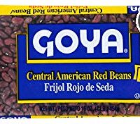 Goya Foods Salvadorean Red Beans (Frijol Rojo De Seda), 16-Ounce (Pack of 24)