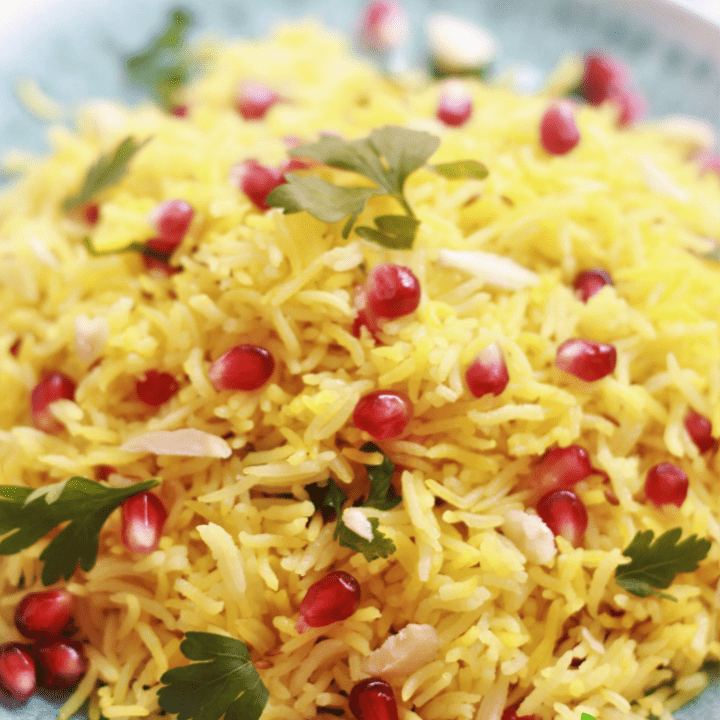 yellow turmeric rice recipe