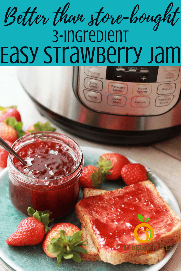 The easiest Strawberry Jam recipe ever!!!  It's a failproof recipe, try it yourself. All you need is Strawberries, sugar and lemon juice. No pectin, no cornstarch, no artificial preservative, no added color. How good is that eh? Instant Pot / Stove Top instructions. Video Recipe #instantpotjam #instantpotstrawberryjam #straeberryjam #strawberryjamrecipe #nopectinstrawberryjam #3ingredientstrawberryjam #vegetarianstrawberryjam #vegetarianjam #veganjam #veganstrawberryjam #homemadestrawberryjam