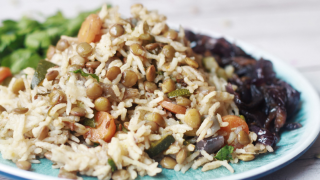 Instant Pot Mujadara Lentils and Rice
