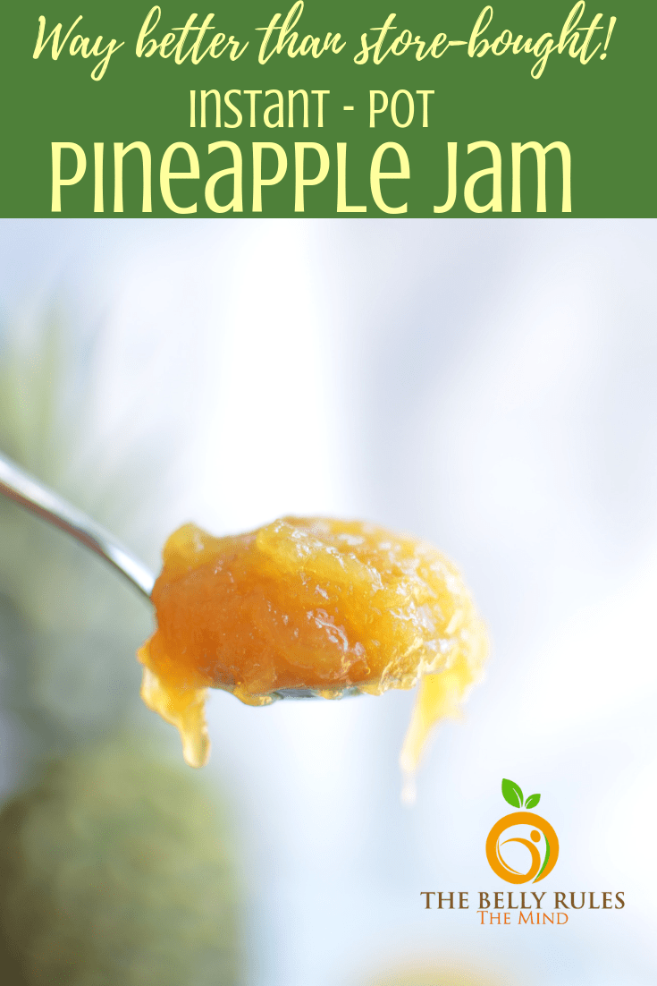 A freshly made batch of Pineapple jam🍍🍍 can be an ideal start for your perfect Sunday breakfast. It only gets better to know that it can be made sugar-free too. So let's get going to make this awesome sugar free Instant pot Pineapple Jam. It's a simple jam that is completely free of refined sugar and pectin. This Instant Pot Pineapple ginger jam recipe will win you over with its deliciousness! It is easy to make at home and a summertime favorite! If you've ever made jam at home before, you know how easy it is. And if you're a first-timer, you're gonna freak out over the simplicity!