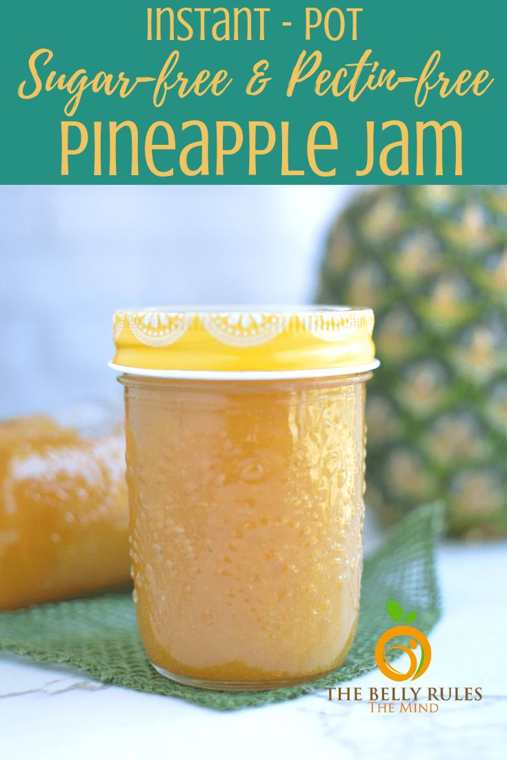 instant pot homemade pineapple jam