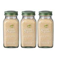 Simply Organic Ground Garlic | Certified Organic | 3.64 oz. (3 Pack)