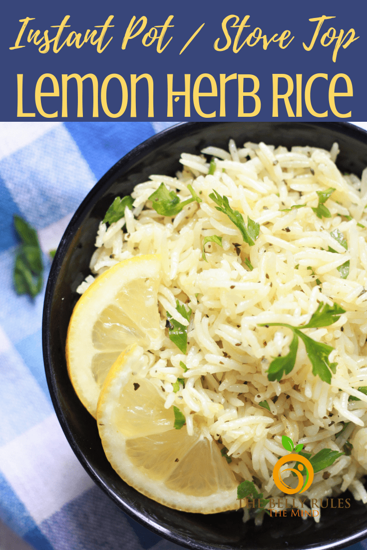 Instant Pot Lemon Rice, is bursting with lemony flavors and is incredible versatile and easy to make. Enjoy it as a side or make it you base to serve your favorite proteins. Just 5 ingredients and 6 minutes is all your need to turn your rice into an exotic dish. Stove top to and Rice Cooker recipe available. Vegan and Gluten-Free.