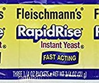 Fleischmann's Rapid Rise Instant Yeast Fast Acting 0.25 Ounce, 3 Count (Pack of 2) …