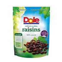 DOLE California Seedless Raisins, 12 Ounce Bag