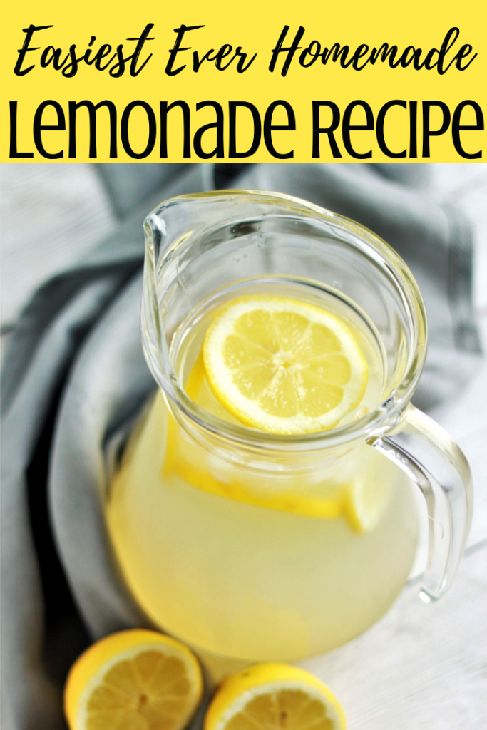 Refreshing Old-Fashioned Lemonade made using homemade lemonade concentrate syrup. Made with fresh lemon juice this lemonade is perfect for a hot summer day. #lemonade #lemonaderecipe #homemadelemonade #lemonadeconcentrate #instantpotlemonade #mealthylemonade