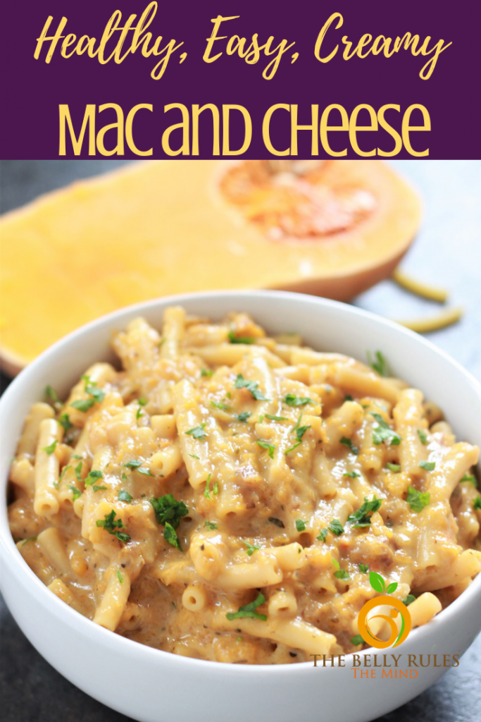 Easy Mac and Cheese recipe - a quick, healthier and homemade meal packed with nutrition minus the ton loads of butter and evaporated milk. Find out our secret to make healthy mac and cheese. Creamy, delicious and soon to become your go-to mac and cheese recipe. Instant Pot Recipe.