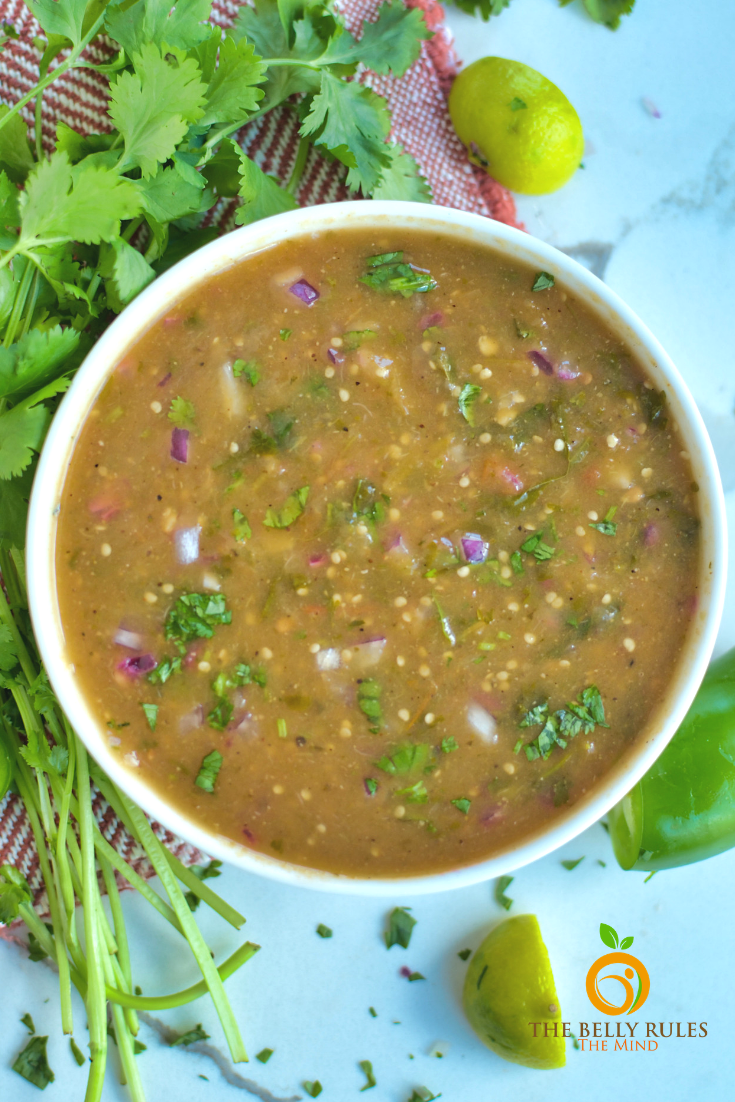 Roasted Tomatillo Salsa Verde Recipe